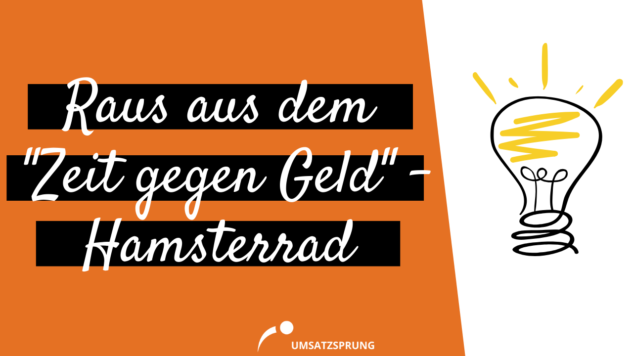 Cover - Raus aus dem Zeit gegen Geld - Hamsterrad